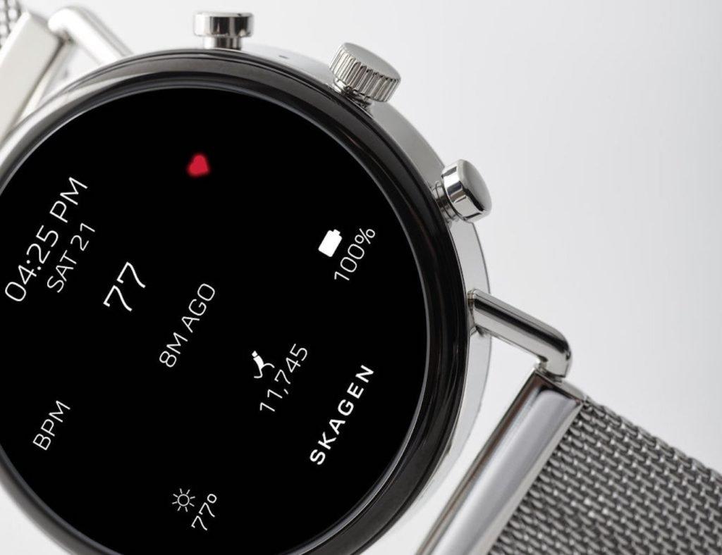 أفضل تصميمات ساعة ذكية بسيطة لعام 2019 - Skagen Falster 2 01