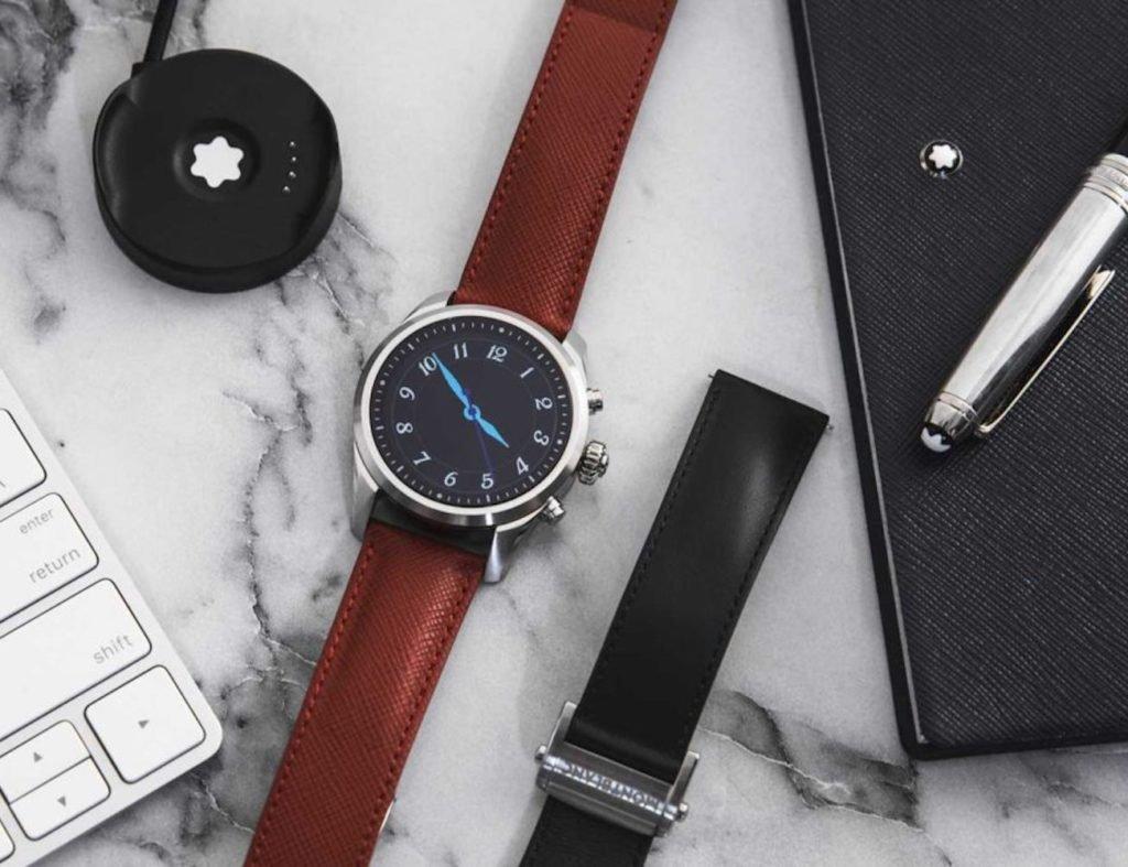 أفضل تصميمات ساعة ذكية بسيطة لعام 2019 - Montblanc Summit 2 02
