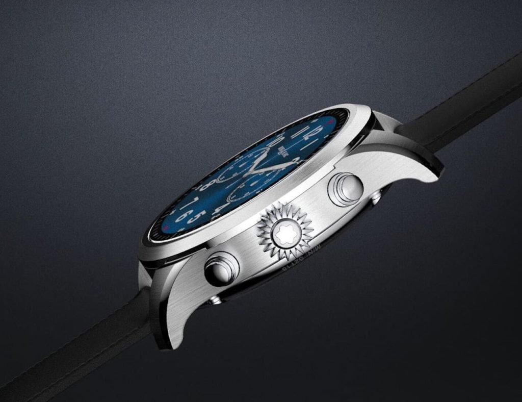 أفضل تصميمات ساعة ذكية بسيطة لعام 2019 - Montblanc Summit 2 01