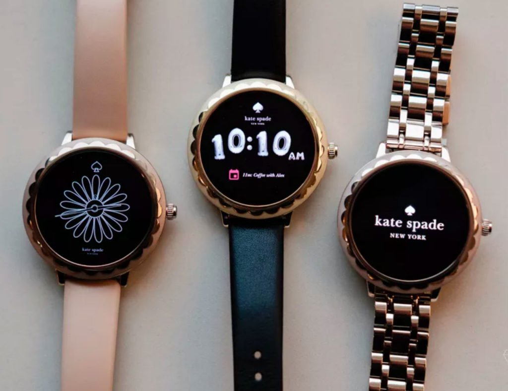 أفضل تصميمات ساعة ذكية بسيطة لعام 2019 - Kate Spade Scallop 2 01