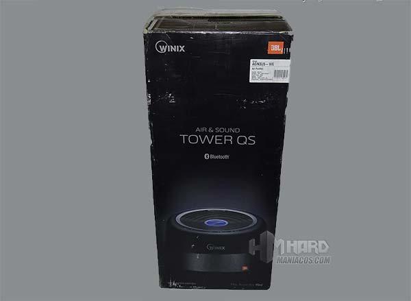 مربع تنقية WINIX برج QS الجانب الأسود