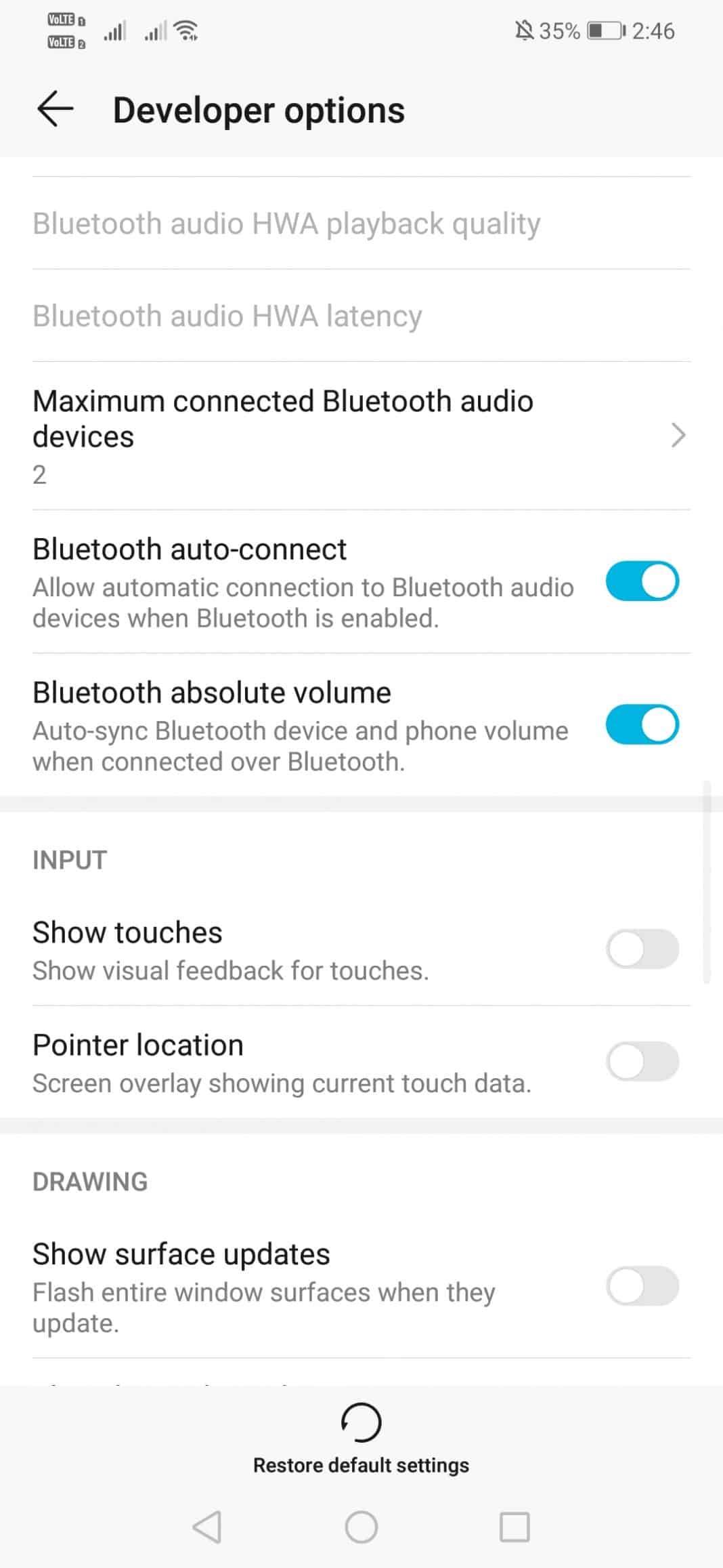 """زيادة مستوى صوت سماعات الرأس في Android """"width ="""" 277 """"height ="""" 600 """"srcset ="""" https://applexgen.com/ar/wp-content/uploads/2019/08/1567189275_151_كيفية-زيادة-حجم-سماعة-بلوتوث-في-أندرويد.jpg 1068w ، https: / /techviral.net/wp-content/uploads/2019/08/Bluetooth-headset-1-138x300.jpg 138w ، https://techviral.net/wp-content/uploads/2019/08/Bluetooth-headset-1- 768x1664.jpg 768w ، https://techviral.net/wp-content/uploads/2019/08/Bluetooth-headset-1-473x1024.jpg 473w ، https://techviral.net/wp-content/uploads/2019/ 08 / Bluetooth-headset-1-696x1508.jpg 696w ، https://techviral.net/wp-content/uploads/2019/08/Bluetooth-headset-1-194x420.jpg 194w """"data-lazy-sizes ="""" ( أقصى عرض: 277px) 100vw ، 277px"""