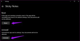 ملاحظات لاصقة لا تعمل على Windows 10 11