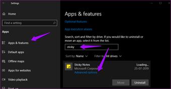 ملاحظات لاصقة لا تعمل على Windows 10 10