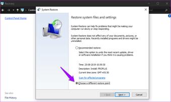 ملاحظات لاصقة لا تعمل على Windows 10 15