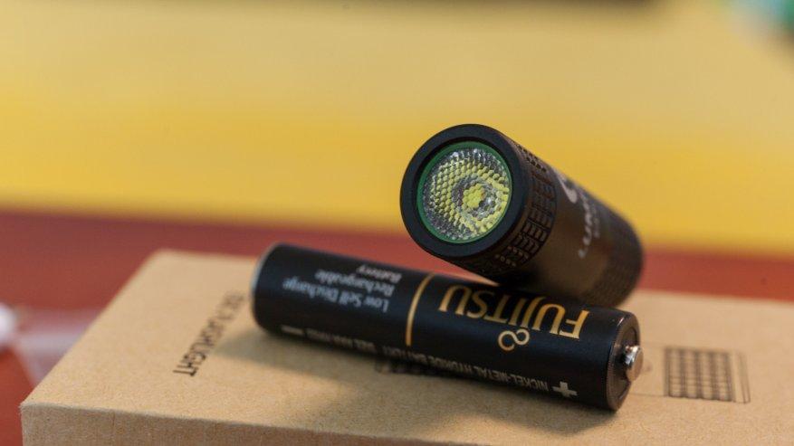 مصباح يدوي صغير ومشرق Lumintop بيكو 14