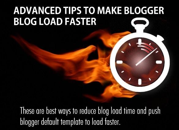 نصائح متقدمة لجعل Blogger تحميل أسرع