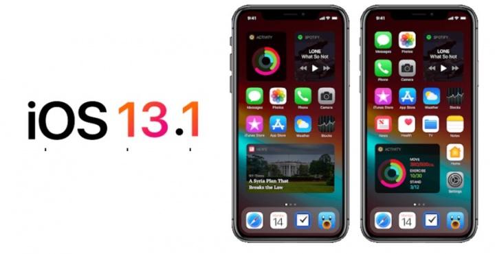 Apple  (بغرابة) إصدار iOS 13.1 beta للمطورين