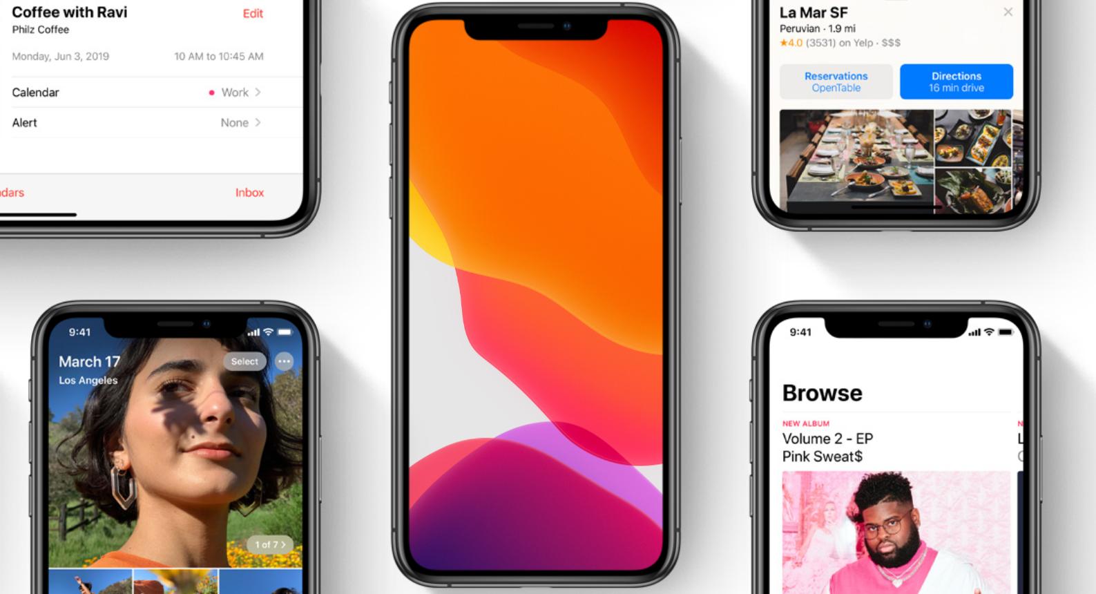 Apple تطلق الإصدار التجريبي 4 من iOS 13 للمطورين لحل المشكلة الخطيرة التي تؤثر على تلقي المكالمات على بعض أجهزة iPhone 1