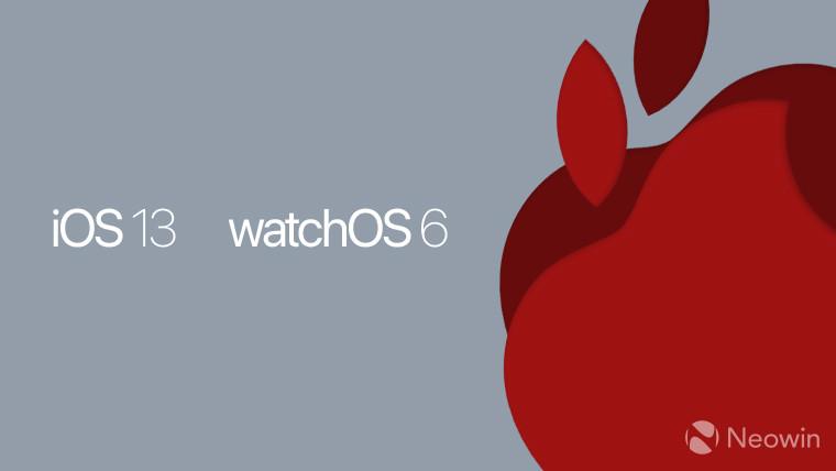 Apple تطلق النسخة التجريبية الرابعة من أنظمة التشغيل iOS 13 و iPadOS 13 و tvOS 13 1