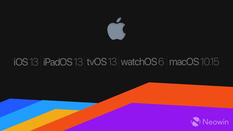 Apple تطلق نظام iOS 13.1 بطريقة تجريبية للمطورين في وقت مبكر 1