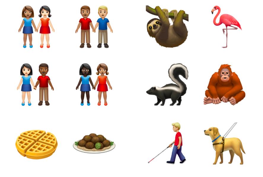 Apple نحن متقدمون على الرموز التعبيرية الجديدة التي ستصل هذا العام للاحتفال باليوم العالمي للرموز التعبيرية 1