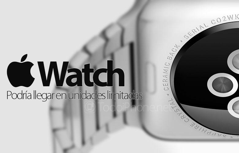 Apple Watch، يمكن أن يقتصر توافرها بسبب مشاكل الإنتاج 1