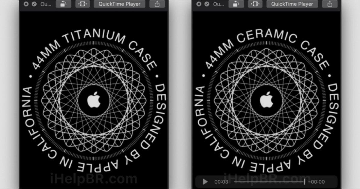 Apple Watch يمكن الكشف عن طرازات السيراميك والتيتانيوم من السلسلة 5 في 10 سبتمبر 1