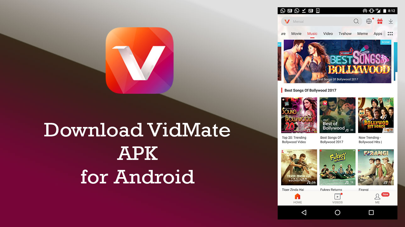 🥇 ▷ Download VidMate 4.2008 APK for Android | Latest Version » ✅