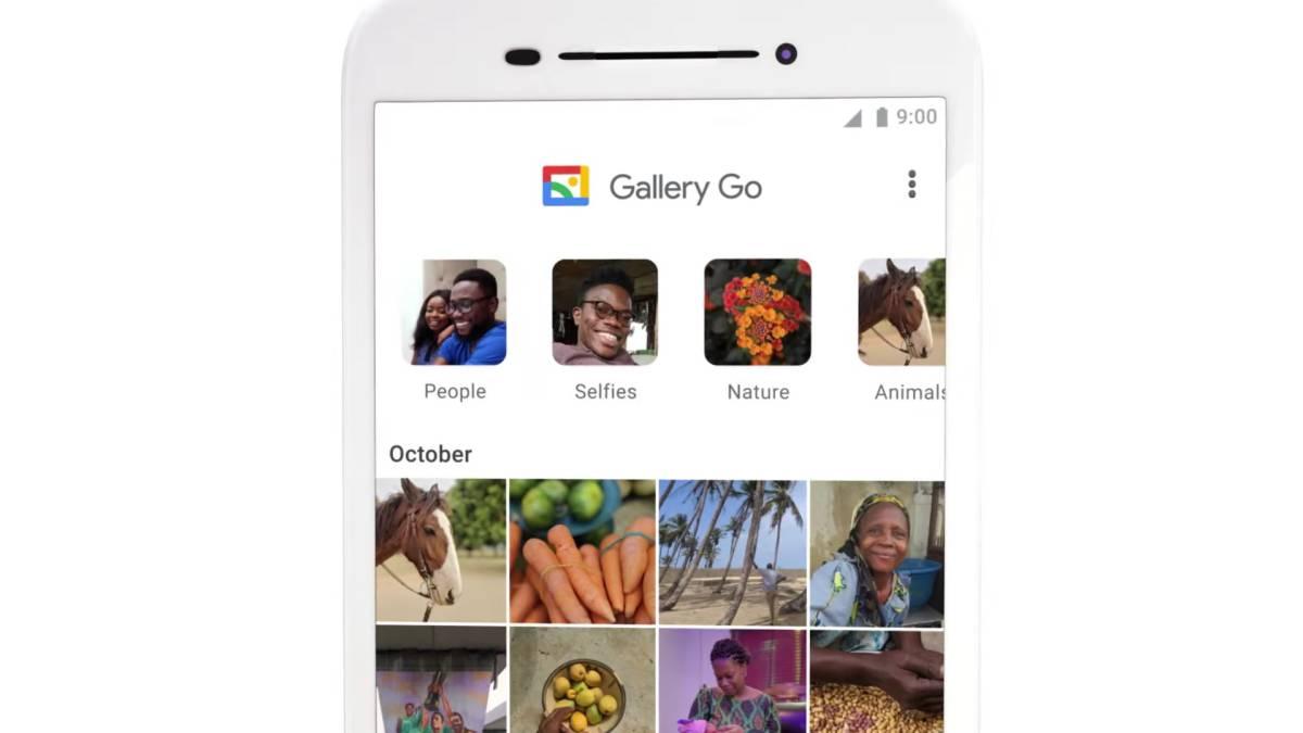 Gallery GO ، تطلق Google الإصدار الخفيف من الصور 1