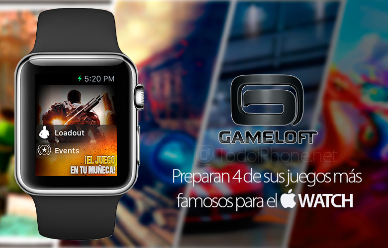 Gameloft لديه 4 ألعاب جاهزة لل Apple Watch 1