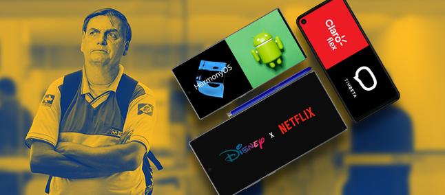 HarmonyOS مقابل Android و Claro Flex و TIM Beta و Disney و Netflix والمزيد   مصنع TC 1