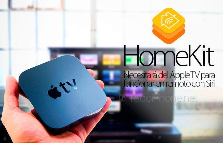 HomeKit سوف تحتاج إلى Apple التلفزيون للعمل مع سيري عن بعد 1