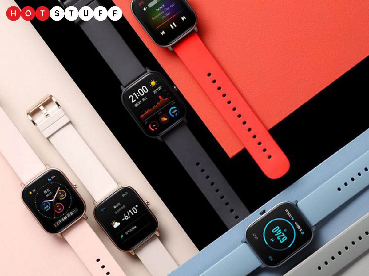 Huami's Amazfit GTS هي سيارة رخيصة ومبهجة بشكل مدهش Apple Watch يبدو مشابها 1