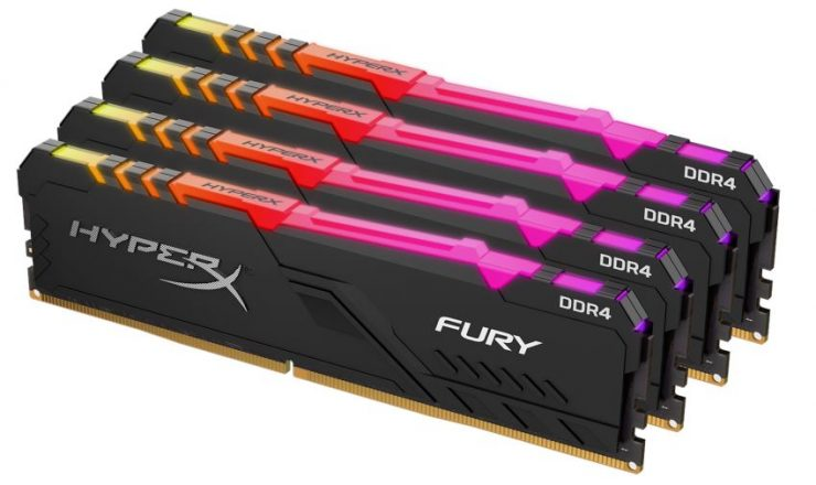 غضب DDR4 RGB