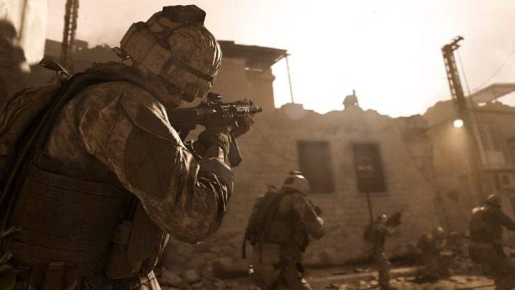 نداء الواجب الحروب الحديثة 740 × 416 0