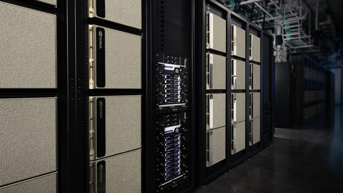 Nvidia DGX SuperPod هو الكمبيوتر العملاق الجديد 96 × 16 Volta 1
