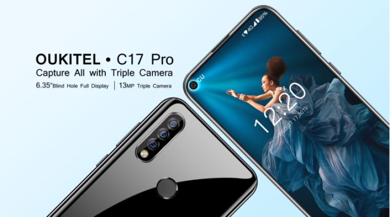 Oukitel لاول مرة في C17 Pro ؛ إعداد الكاميرا الخلفية ثلاثية ل 139.99 دولار 1