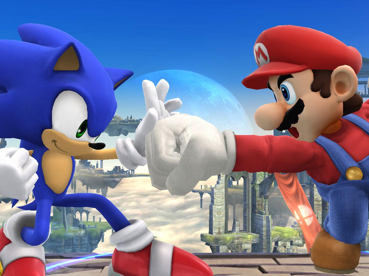 Super Smash Bros. لمعاينة Wii U 1