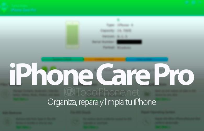 Tenorshare iPhone Care Pro لنظام التشغيل Mac ، وتنظيم وإصلاح وتنظيف اي فون الخاص بك 1