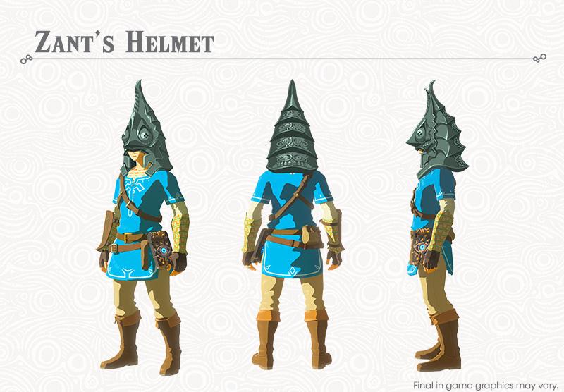 The Legend of Zelda: Breath of the Wild Champion & Ballad DLC Item Item Guide 2