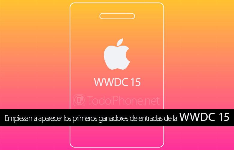 WWDC 15: ابدأ في الظهور كأول محظوظ للحضور 1