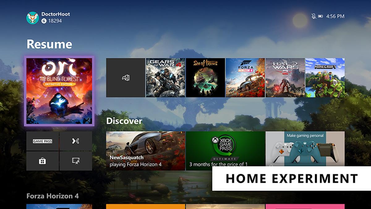 Xbox One تعلن عن تخطيط جديد للشاشة الرئيسية ؛ تحديث الأوامر الصوتية 1