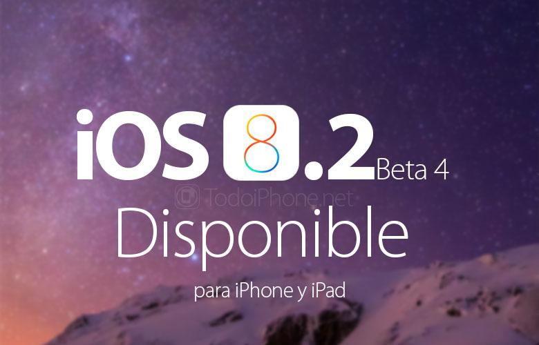 iOS 8.2 Beta 4 for iPhone متاح للتنزيل 1