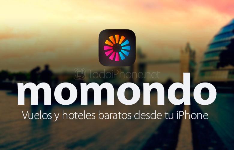 momondo ، والرحلات الجوية والفنادق الرخيصة من اي فون الخاص بك 1