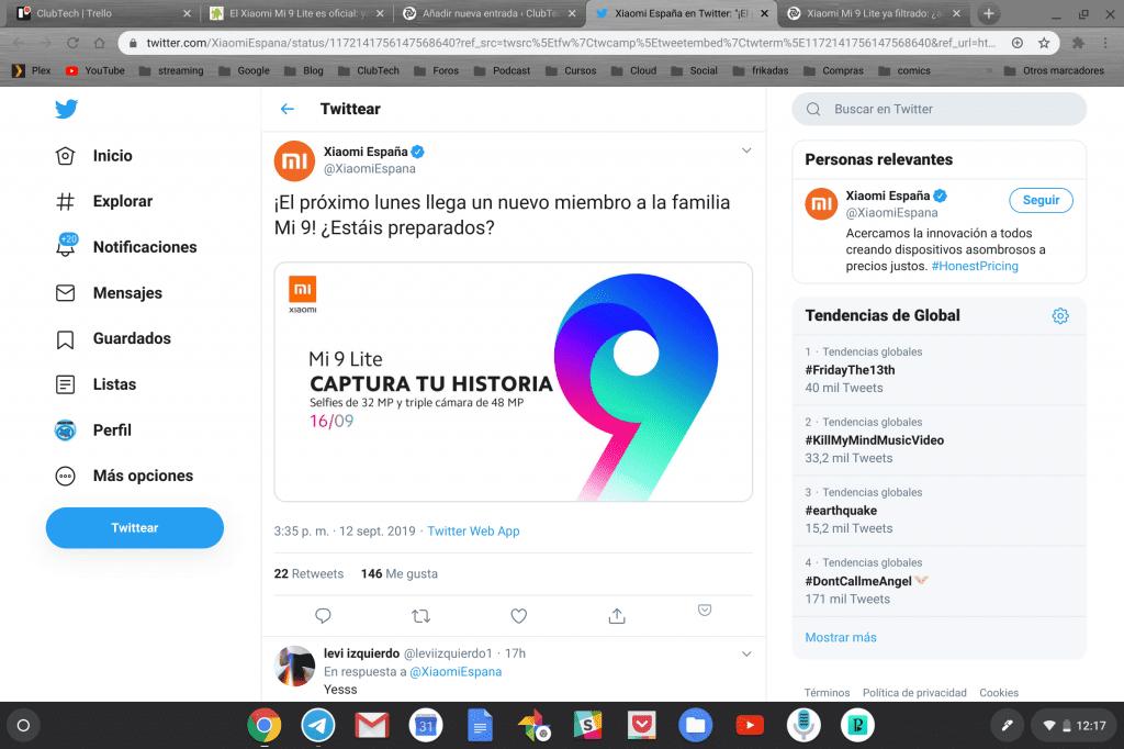 "تاريخ العرض Xiaomi Mi 9 Lite ""class ="" wp-image-37996 lazyload ""srcset ="" https://clubtech.es/wp-content/uploads/2019/09/Screenshot-2019-09-13-at-12.17. 15-1024x682.png 1024w ، https://clubtech.es/wp-content/uploads/2019/09/Screenshot-2019-09-13-at-12.17.15-300x200.png 300w ، https: // clubtech. ar / wp-content / uploads / 2019/09 / Screenshot-2019-09-13-at-12.17.15-768x512.png 768w ، https://clubtech.es/wp-content/uploads/2019/09/Screenshot -2019-09-13-at-12.17.1-696x464.png 696w ، https://clubtech.es/wp-content/uploads/2019/09/Screenshot-2019-09-13-at-12.17.15- 1068x712.png 1068w ، https://clubtech.es/wp-content/uploads/2019/09/Screenshot-2019-09-13-at-12.17.15-630x420.png 630w ""sizes ="" (أقصى عرض: 1024 بكسل) 100 فولت ، 1024 بكسل"