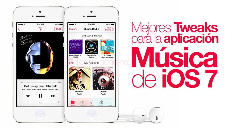 أفضل تعديلات لتطبيق iOS 7 Music 1