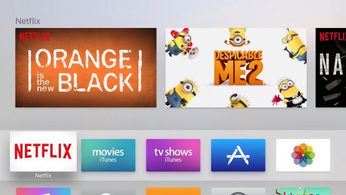 الجنرال الرابع Apple شاشة تلفزيون Netflix الرئيسية