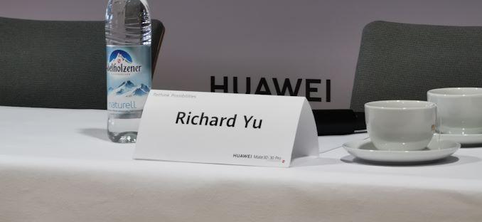 """الرئيس التنفيذي لشركة Huawei ريتشارد يو سؤال وجواب: """"السياسيون يلعبون الألعاب"""" 1"""