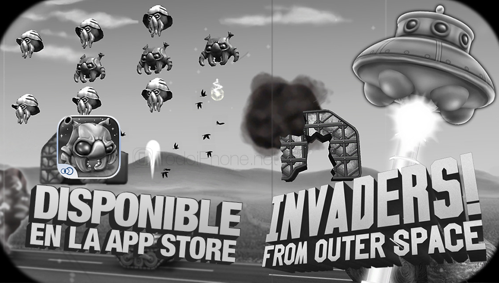 الغزاة! من الفضاء الخارجي يأتي إلى iPhone و iPad 1