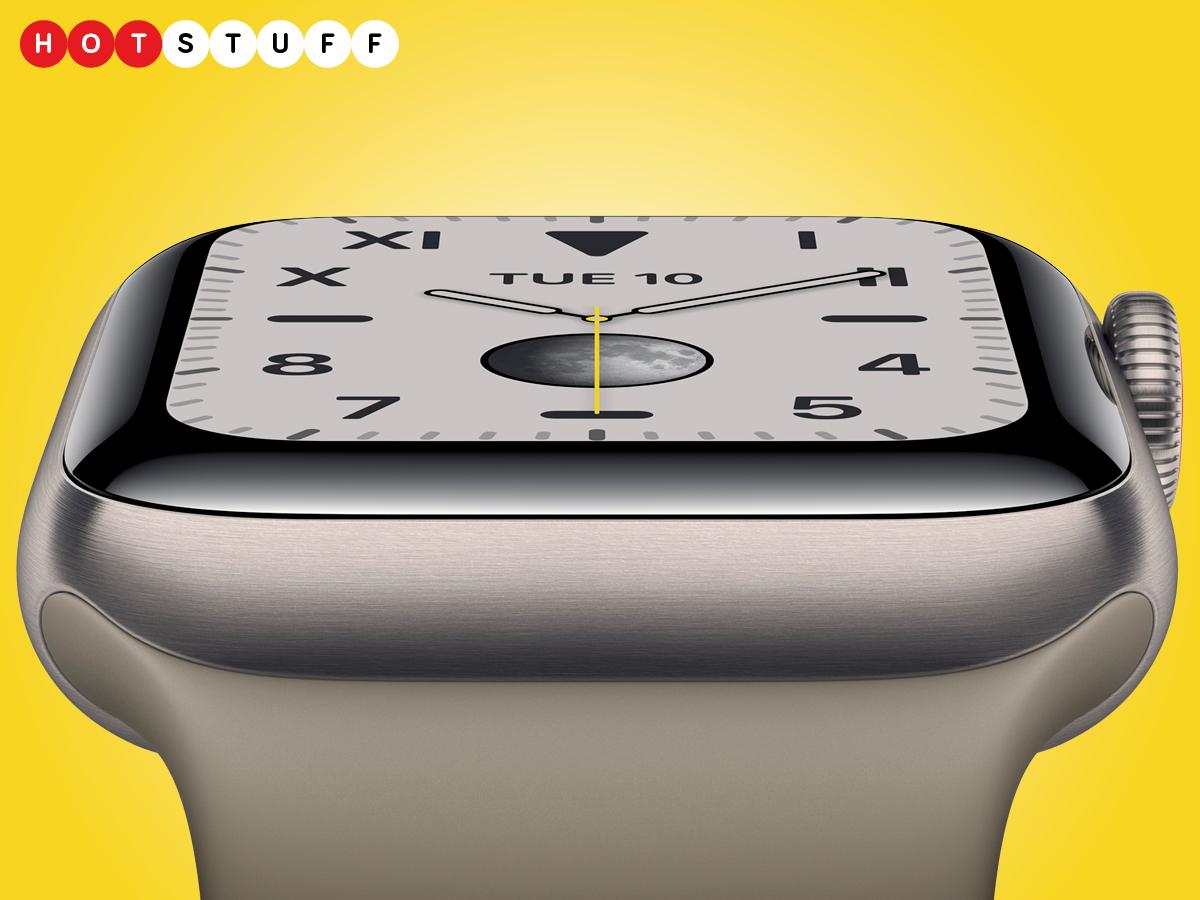 ال Apple Watch تحتوي السلسلة 5 على شاشة Retina تعمل دائمًا 1