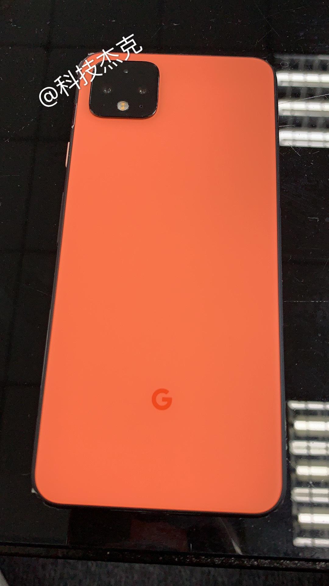 "تتسرب Google Pixel 4 بلون ""Coral"" الجديد 1"