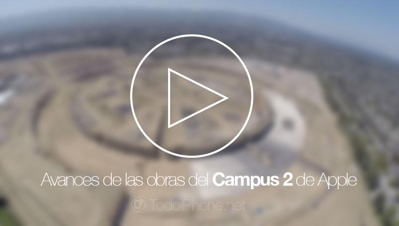 تقدم أعمال الحرم الجامعي 2 من Apple عرض بدون طيار مع كاميرا من GoPro 1