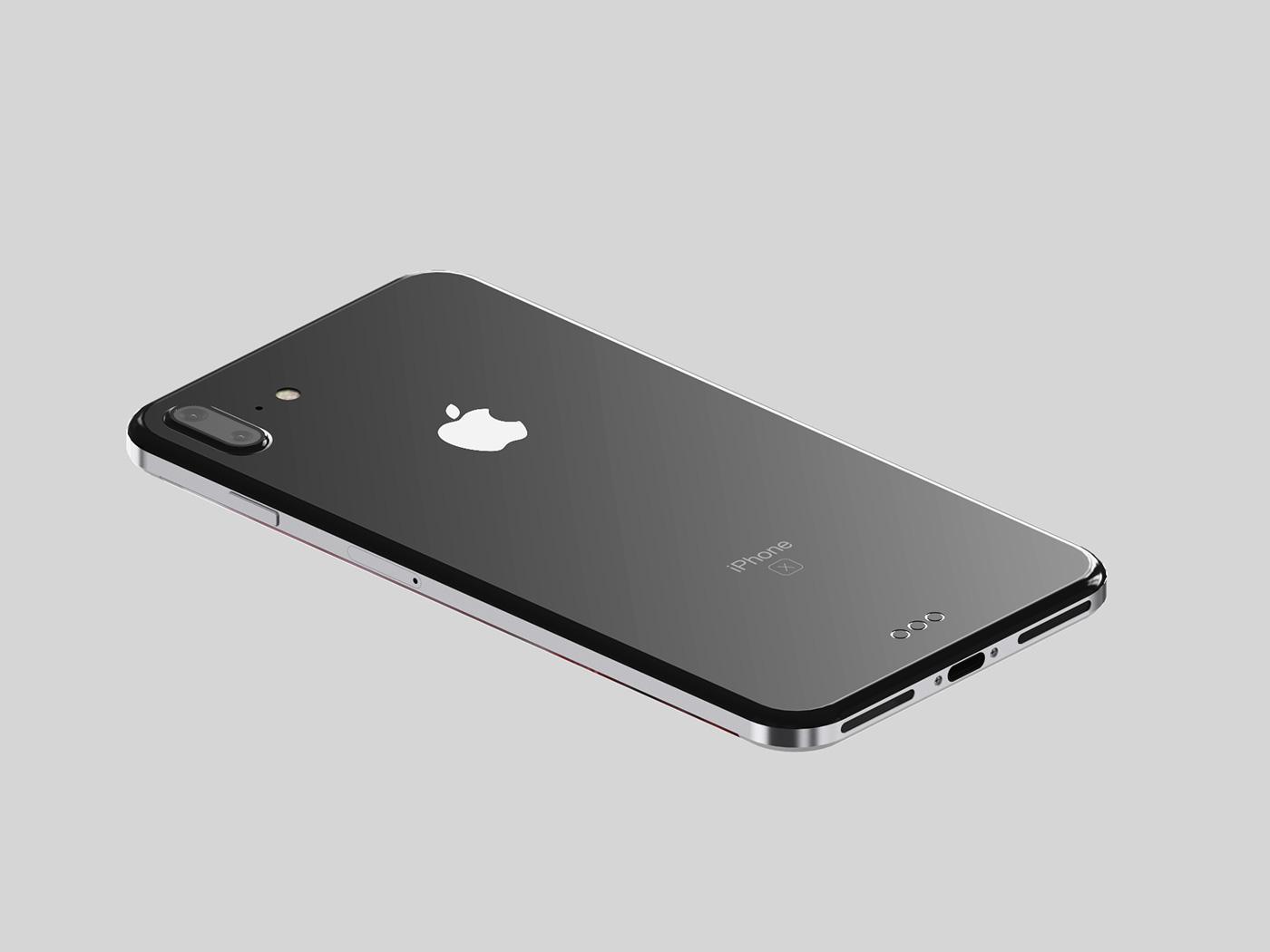 Apple  من المتوقع أن تتخلى عن الغطاء الخلفي للألمنيوم في iPhone 8