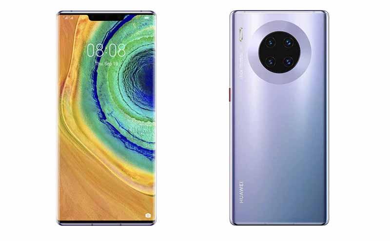 Huawei Mate 30 Pro باللون الأرجواني الكوني. المصدر: هواوي