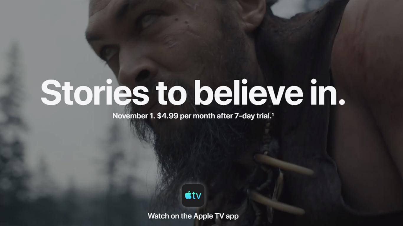 تيم كوك Apple تلفزيون + مجانا لمدة 1 سنة على شراء Apple جهاز 1