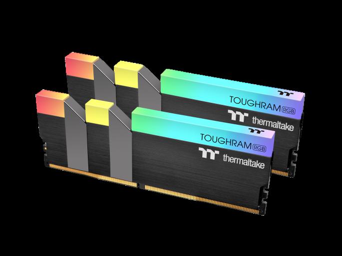 ثرمالتاكي تطلق ذكريات TOUGHRAM RGB DDR4 3600MHz | 3200 ميجا هرتز | 3000 ميجا هرتز 16 جيجابايت 1