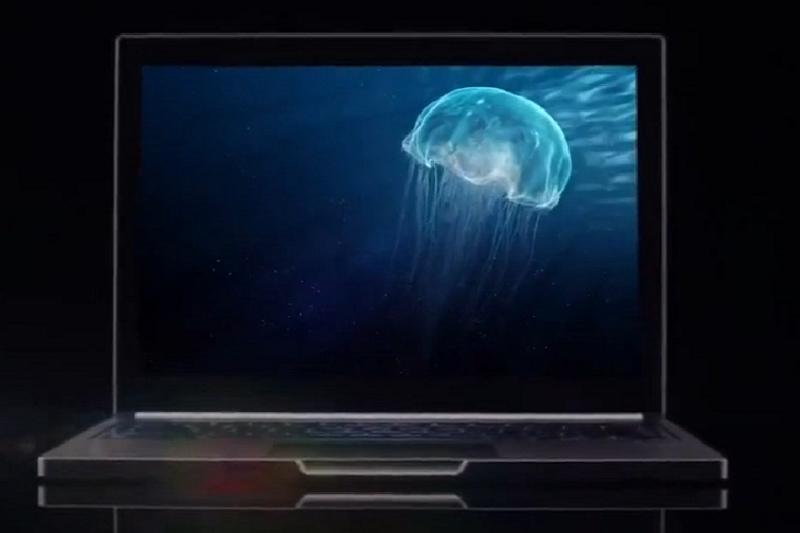 جوجل ليتفوق Apple عرض شبكية العين مزود بجهاز Chromebook بشاشة لمس تبلغ 4 ملايين بكسل 1