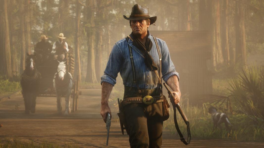 حقق أحد أعضاء فريق Red Red Dead Redemption 2 من أعضاء فريق Red الانتهاء 1