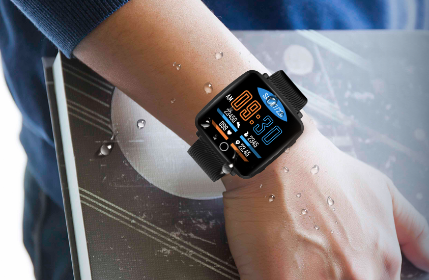 ساعة ذكية لينوفو Carme HW25P مع شاشة ملونة بحجم 1.3 بوصة ، ومراقبة معدل ضربات القلب ، تصنيف IP68 الذي تم إطلاقه لشركة Rs. 3499 1